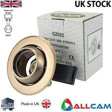 Haga clic en iluminación GZ025 GZ10/GU10 Downlighter globo ocular en acabado de cobre antiguo