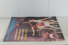 rivista GIGANTI DEL BASKET 1971 numero 14
