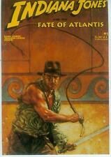 Dave Dorman Postcard: Indiana Jones - Fate of Atlantis # 1 cover (USA, 1992)