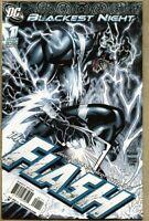 Blackest Night The Flash #1-2010 nm+ 9.6 DC Geoff Johns Standard Cover Kolins
