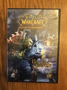 HEROES OF AZEROTH STARTER DECK WORLD OF WARCRAFT TCG: Sealed Booster packs!