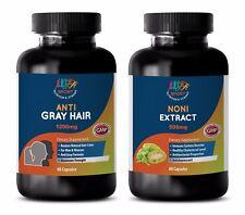 anti-aging retinol moisturizer - Gray Hair - Noni Combo 2B - saw palmetto produ