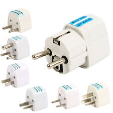 US AU UK GER to EU Europe AC Power Socket Plug Travel Charger Adapter Universal
