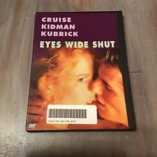 Eyes Wide Shut 1999 Tom Cruise Nicole Kidman Stanley Kubrick Mint Full Dvd