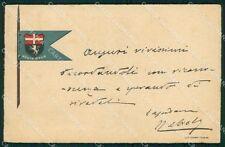 Militari Reggimentali VI Lancieri di Aosta cartolina XF2142