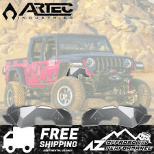 ARTEC Solid Front Aluminum Inner Fender Kit 2020+ Jeep Gladiator JT Bare JL5107