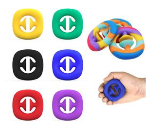 Fidget Snapper Grip Stress Relief Toy - Autism ADHD Pop It Sensory Squeeze
