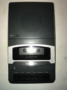 Vintage RadioShack Tape Recorder Cassette Optimus CTR-111 Gray Portable Cassette