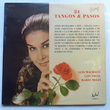 LUIS MACHACO LEO VIDAL MARIO MELFI 24 tangos & pasos ALBUM 107