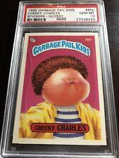 1985 Garbage Pail Kids OS2 65b Cheeky Charles PSA 10 AWARD back GLOSSY