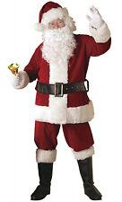 Rubie's Ultra Velvet Adult Santa Suit with Faux Fur, X-Large - 23361