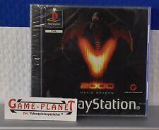 V2000  OVP Sony Playstation 1 P1 PSX Pone NEU in Folie NEW BOX