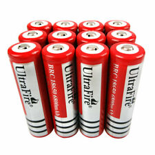 2/4/6/10PC 18650 6800mAh Battery 3.7V Li-ion Low Drain Rechargeable for Toys UK