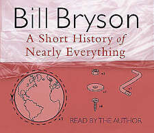 BILL BRYSON A SHORT HISTORY OF NEARLY EVERYTHING NEW SEALED CD AUDIOBOOK AUDIO