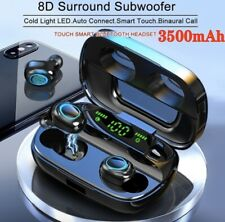 2020 New 8D Stereo Quality Waterproof Smart Touch earbuds Led Battery Display