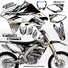 1999 2000 SUZUKI RM125 RM 125 GRAPHICS KIT 99 00 DECALS DECO STICKERS MOTOCROSS