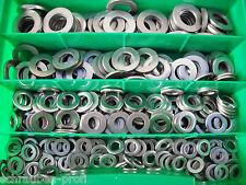 150 ACIER INOX u-disque DIN 125 Lot Boîte M6 - M12