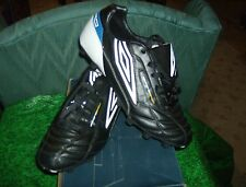 Umbro Soccer ES Diamondback HG Black/White/Blue 11.0