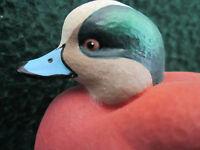 Jett Brunet Ducks Unlimited Miniature Widgeon Decoy 10th anniversary  Rare NIB