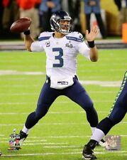 2014 Super Bowl XLVIII RUSSELL WILSON Seattle Seahawks LICENSED 8x10 photo