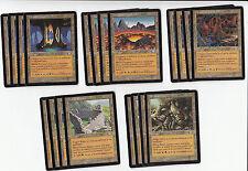 20 Card Tri Land (Lair) - Planeshift - NM/SP - 4x of each - Sets - Magic MTG FTG