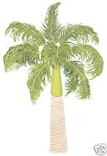PALM TREE CREATIVE WALL ART TRANSFER DECAL WALL DECORATIONS TATOUAGE