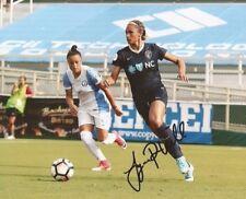 Lynn Williams Team Usa Womens Soccer signed Nc Courage 8x10 photo