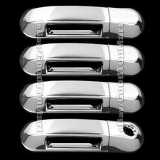 FORD EXPLORER SPORT TRAC 07-10 CHROME 4 DOOR HANDLE COVERS W/O PASSENGER KEYHOLE