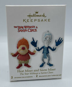Hallmark 2012 Heat Miser and Snow Miser Year Without A Santa Claus Ornament NEW