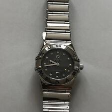 Omega Constellation Ladies Wristwatch 6563/875 Quarts Gray Silver SS F/S Japan