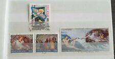 Vaticaanstad - various stamps - stamped