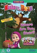 Masha and the Bear: Where Are You, Bear? (Box Set) [DVD]