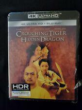 Crouching Tiger Hidden Dragon, 4K Ultra Hd +Blu-Ray, No Digital, Lot D4,