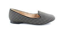 Arturo Chiang AT Beatrixx Black /DARK CREAM POLKADOT Womens Shoes SZ 6 M Flats