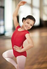 NEW Capezio Bloch Short Sleeve S/S Dance Leotard Bodysuit Toddler, Child Adult