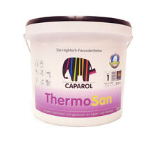 CAPAROL Thermosan NQG Siliconharz Fassadenfarbe 12,5 L Weiß
