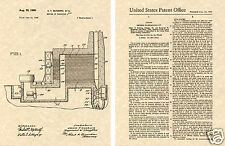 Production of Nuclear Uranium 1945 Us Patent Art Print Ready To Frame!