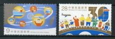 Taiwan Chine 2017 neuf sans charnière Cross-Strait Exchange 30th Anniv 2 V Set ponts timbres
