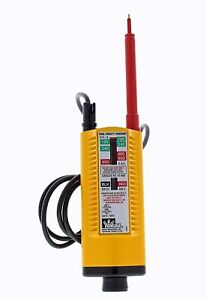 Ideal Industries Inc. 61-065 Vol-Test Voltage Tester Catiii For 600V Wiggy Indus