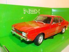 Ford Capri 1969 - Red, Welly 1/24 ,Classic Model Car