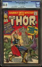 Journey into Mystery #106 CGC 8.0 OW/W Mister Hyde Cobra appear Nice Thor SA KEY