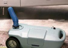 RV Waste Tote Portable Wheel Gray Black Sewer Waste Water 15 Gallon Tank Camper