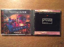 Runrig [2 CD Alben] Once in a Lifetime + Transmitting Live