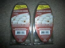 "YANKEE CANDLE "" Marshmallow Vanilla "" Wax Melts 2 Packs 12 Cubes American Home"