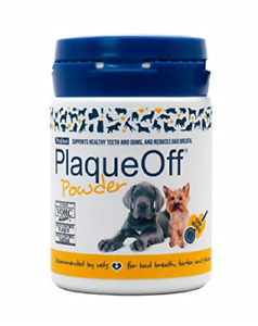 Plaque Off Powder for Dogs, 60 g, Recommended by Vets