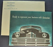1948 Packard Super Eight 8 Business Limousine Brochure + Env Excellent Original