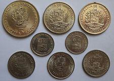 Venezuela 5 bolívares 1988. 1 - 1967 y 1989. un BOLIVAR 1967 89, 90. 50 CENTIMOS