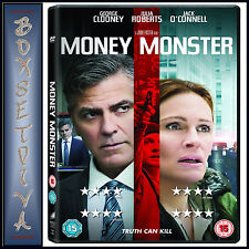 MONEY MONSTER -  George Clooney & Julia Roberts   *BRAND NEW DVD**