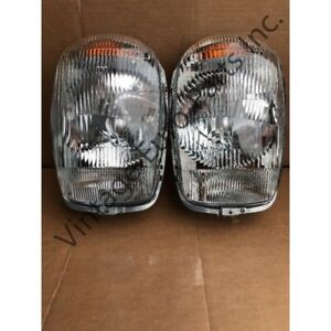 Pair Of Euro Style Headlights fits Mercedes 230SL 250sl 280sl W113