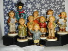 Hummel Christmas 12 pc Kinder Choir Collection Stage & Lampost w/Orig Boxes